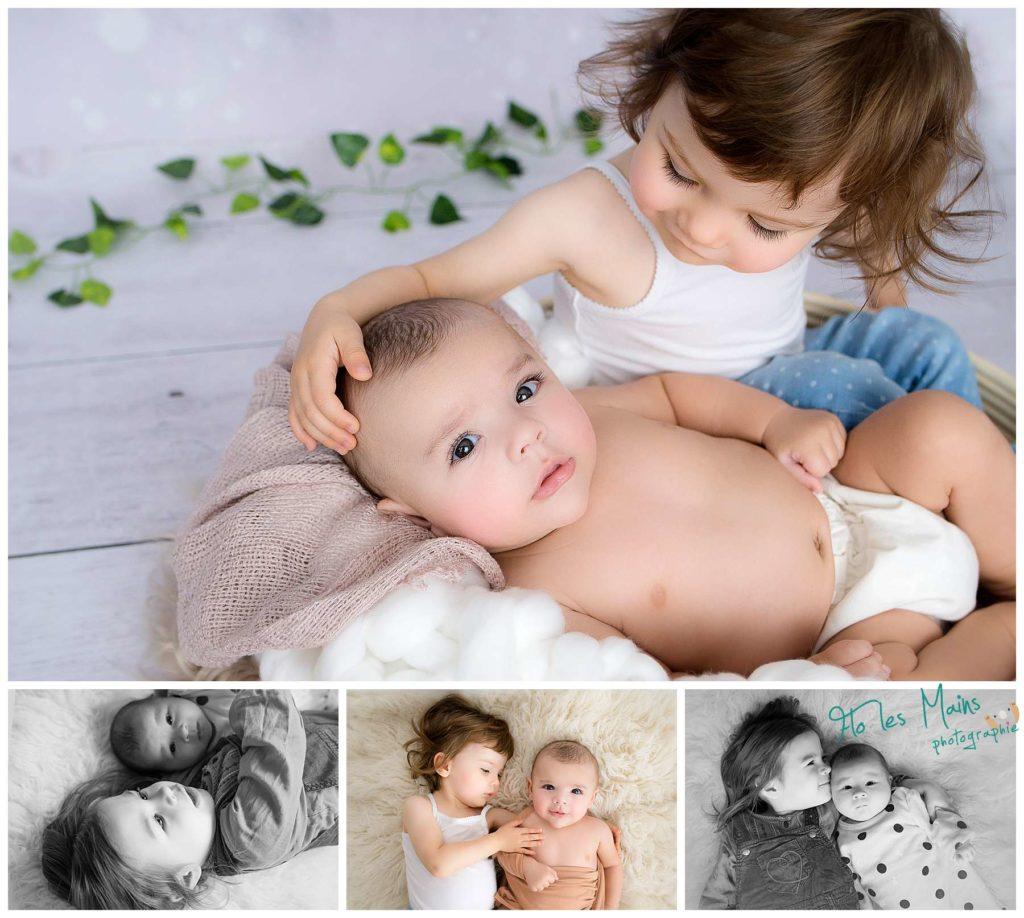 Portfolio des photos de fratrie d'enfants