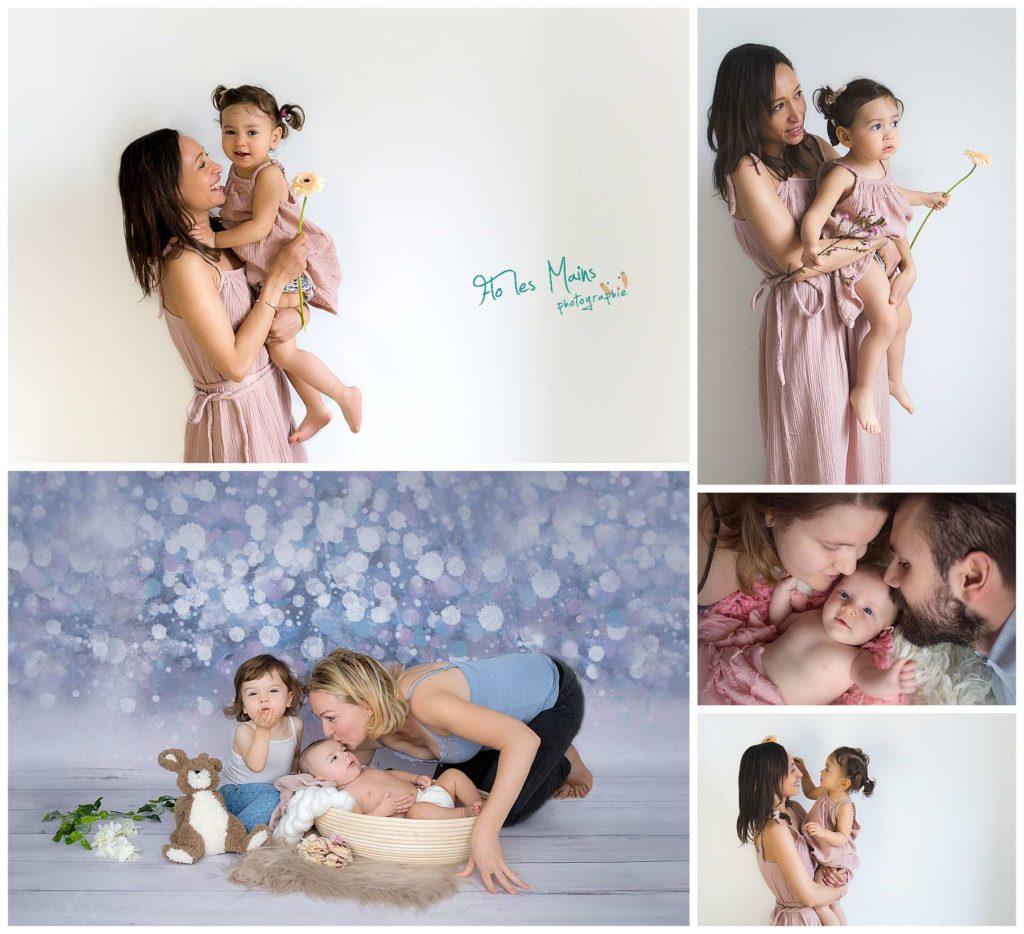 Portfolio des photos de famille en studio