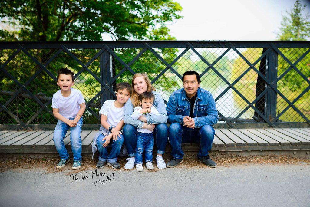 Séance Famille Bois de Vincennes - Photographe famille Paris