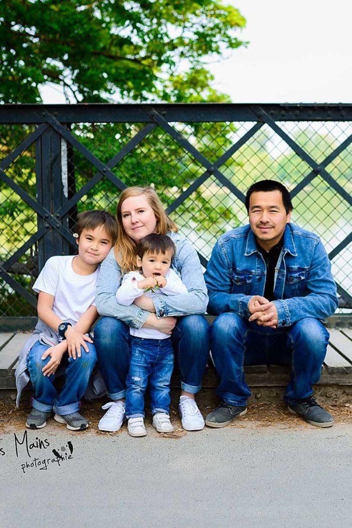 Séance Famille – Bois de Vincennes – Lac Daumesnil